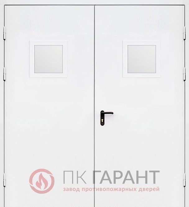 Металлическая входная дверь модели Двупольная ДПМ-02 EI-60 №21 с ручкой «Push-bar» Apecs и замком «Антипаника» ISEO, наружная сторона