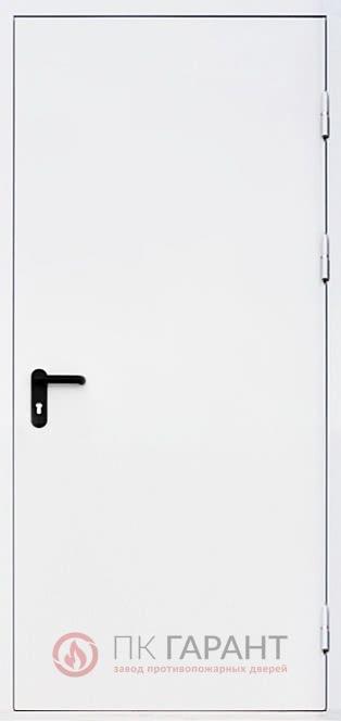 Металлическая входная дверь модели Однопольная ДПМ-01 №5 EI-60 с замком «Апекс Антипаника» и ручкой «Push Bar», наружная сторона